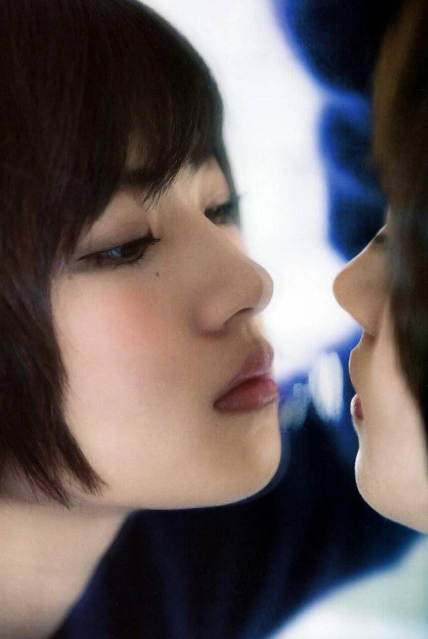 若月佑美のキス顔
