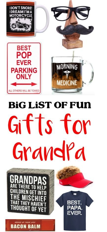 Gifts for Grandparents! 52 Fun Grandpa Gifts! Spoil those sweet and silly Papas with these funny gifts theyu0027ll LOVE!  sc 1 st  Pinterest & Gifts for Grandparents! 52 Fun Grandpa Gifts! Spoil those sweet and ...