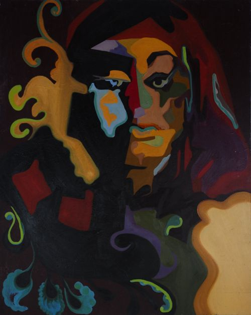 Maha Al Sahhaf | São House #Artist | #Original #painting priced at $4200 | Now #shipping #worldwide
