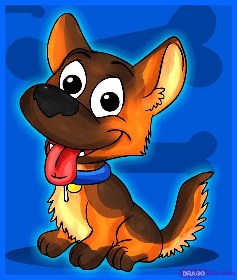 Картинки, картинки смешных собак нарисованные для детей
