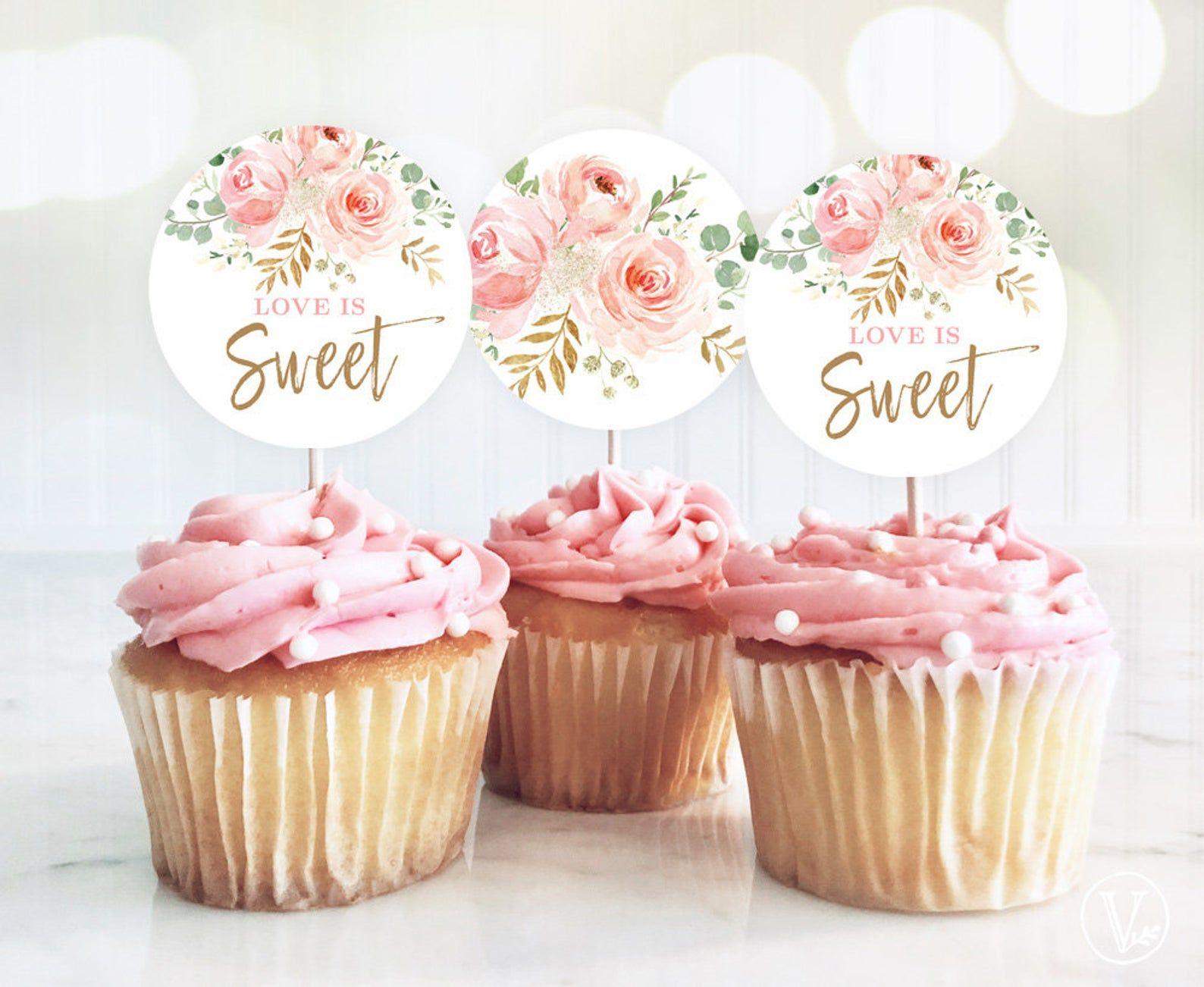 27+ Wedding cupcake toppers printable ideas