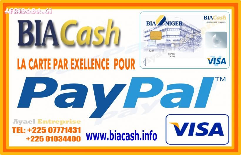 Carte Paypal Disponible 13 000 Fcfa Autres Services Bons Plans Abidjan Ci Paypal Person Personal Care