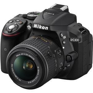 Nikon D5300 Digital SLR Camera & 18-55mm VR DX II AF-S Lens (Black) - Factory Refurbished with Tamron 70-300mm Di Zoom Lens + 16GB Card + Case + Filters + Kit