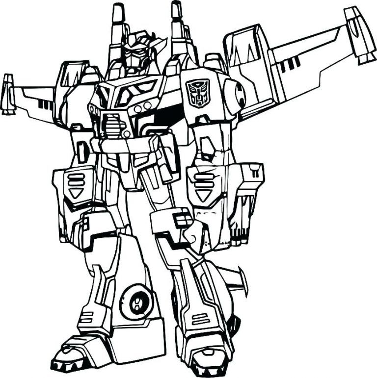 bumblebee transformer coloring page Free Printable