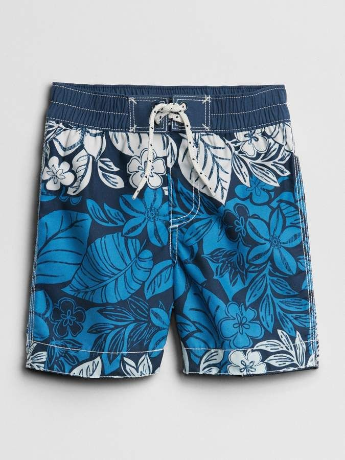 15e858dd8d Gap Print Swim Trunks | all baby boys an toddlers clothes an shoes ...