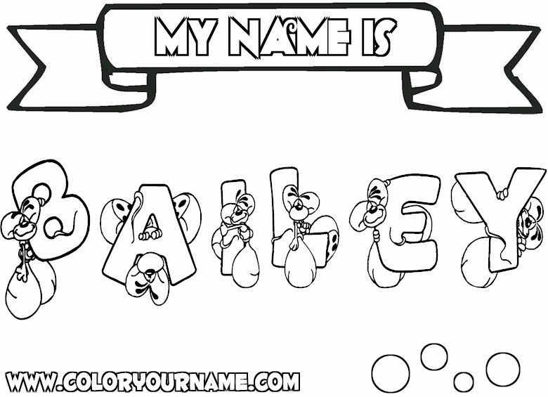 8 Images Of Free Printable Coloring Pages With Your Name Name