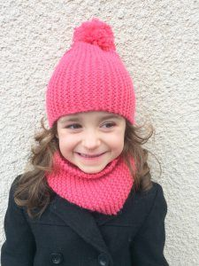 tuto snood fille tricot