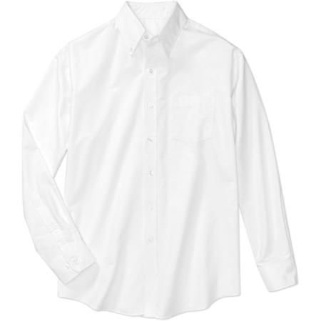 1185e4da George - Men's Long-Sleeve Oxford Shirt - good ol Walmart, $13.98 ...