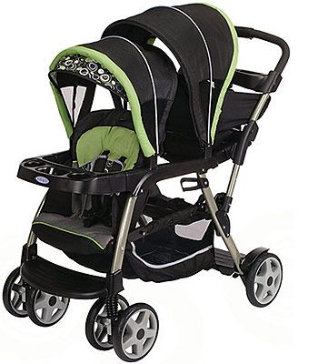 Graco Ready2grow Lx Stand Amp Ride Stroller Video Baby