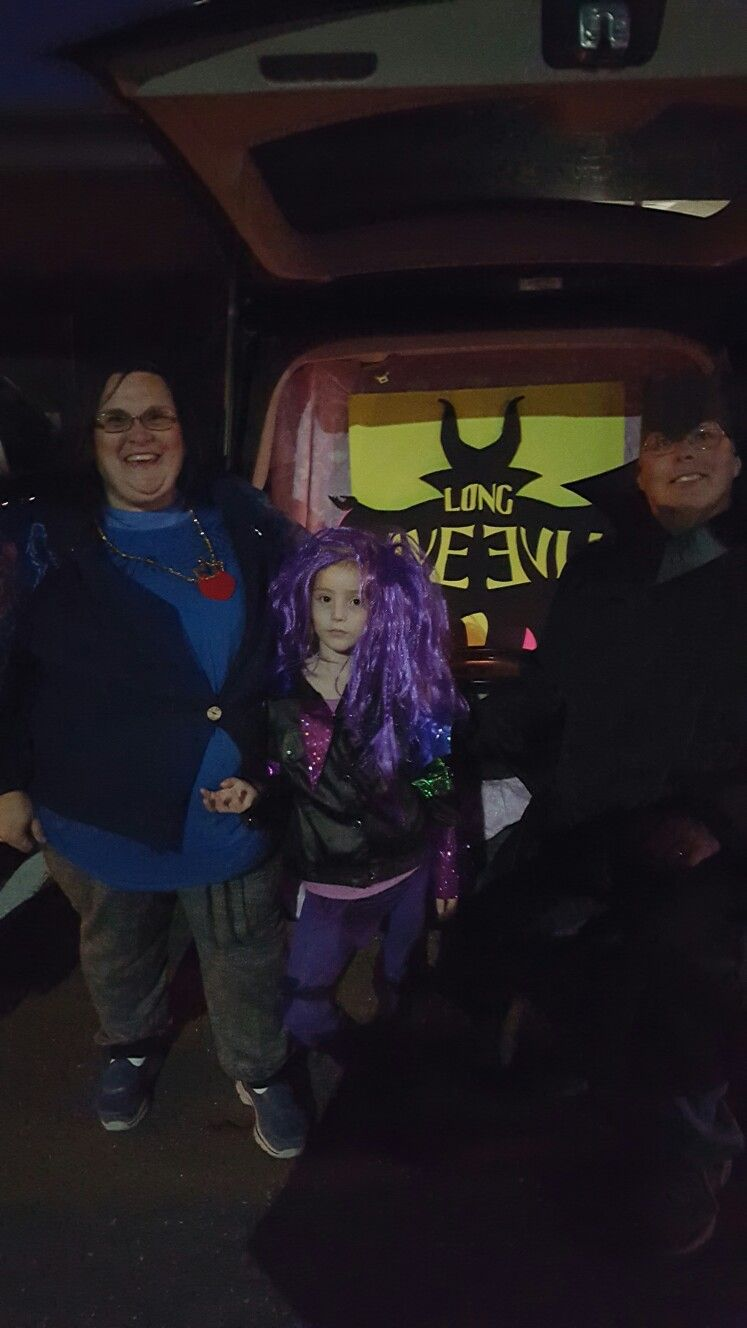 Disney S Descendants Trunk Or Treat Trunk Or Treat In 2019