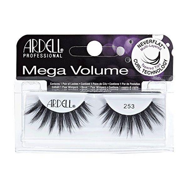 4dfa9083cbf Details about (6 Pack) ARDELL Mega Volume - 253 Black (Free Ship) in ...
