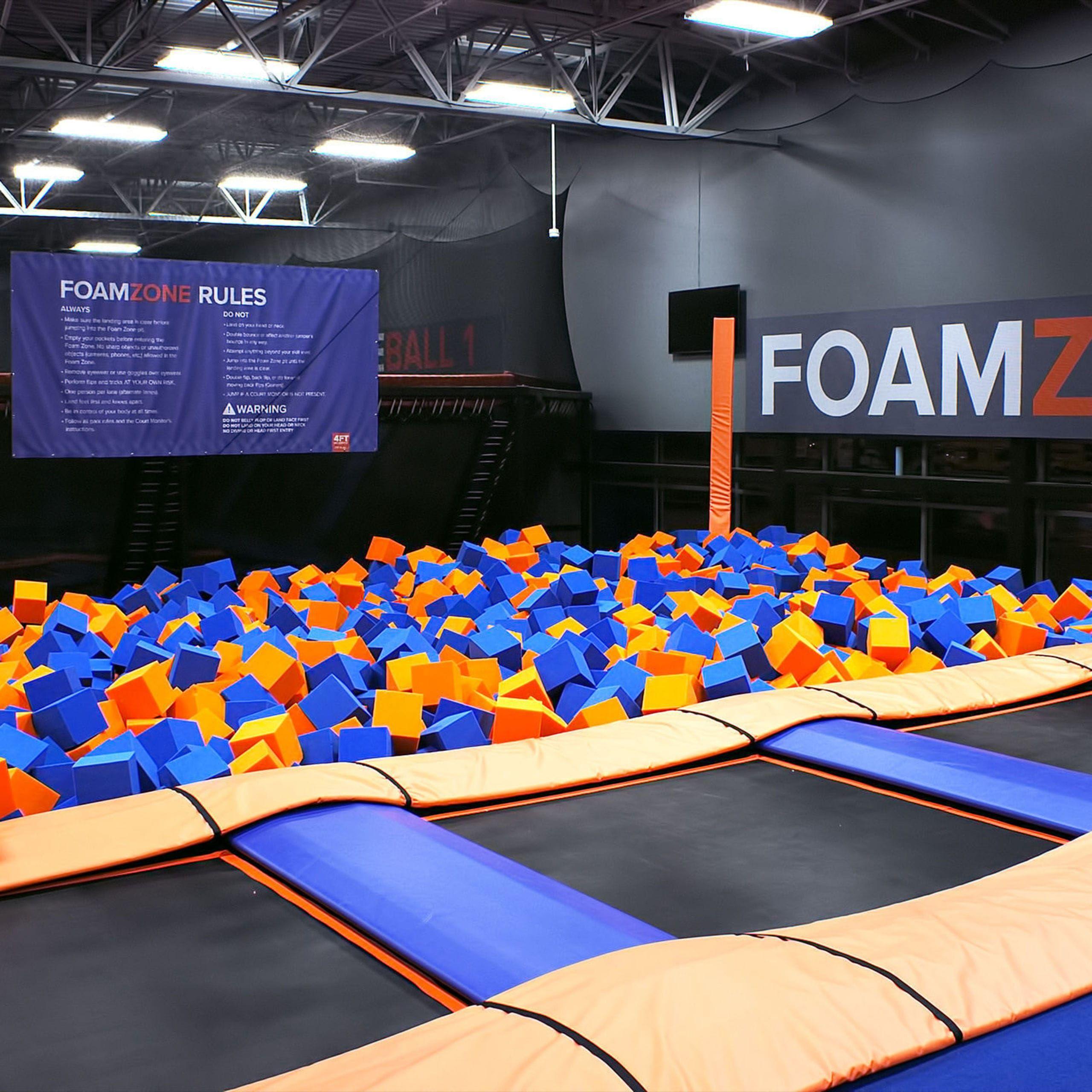 Sky Zone is the original indoor trampoline park. Enjoy