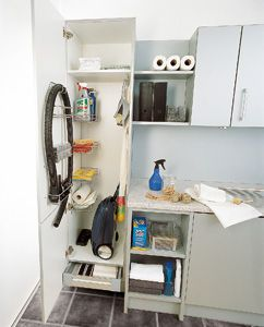 Schoonmaakkast Utility Laundry Room Home Mudroom