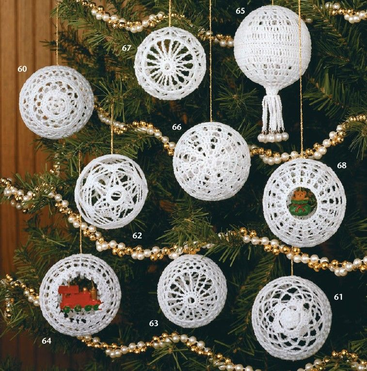 Bright snowflakes. Regal angels. Lacy stars. Delicate bells. Add festive beauty to your holidays with dozens of classic thread crochet Christmas ornaments and decorations! Invite a band of angels to serenade you from the branches of the tree. Fashion intricate covers for satin ball ornaments. Welcome visitors with a string of bells on your front door. For unforgettable gifts, frame photos of your loved ones inside heart, wreath, star, and snowflake ornaments. Complete crochet instructions plu...