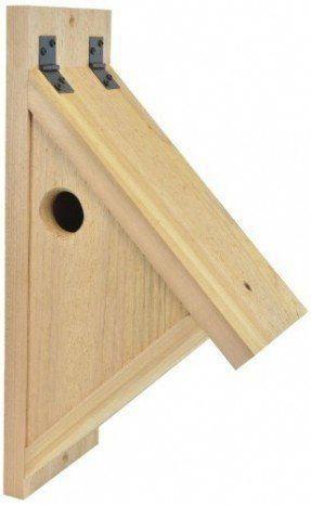 backyard boys woodworking bbw76 nuthatch nest box. Black Bedroom Furniture Sets. Home Design Ideas