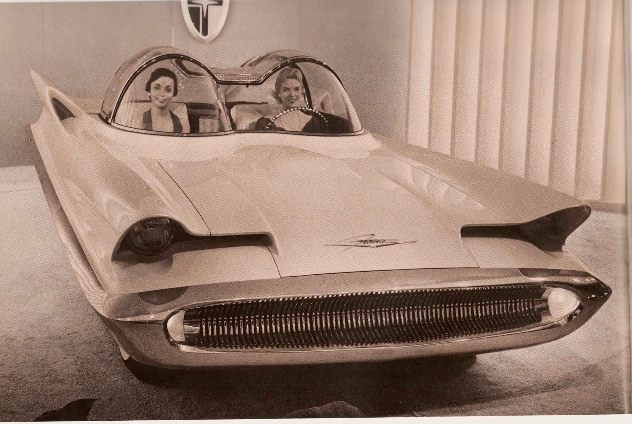 1956 ford concept car | 1956 Lincoln Futura Concept (later used as ...