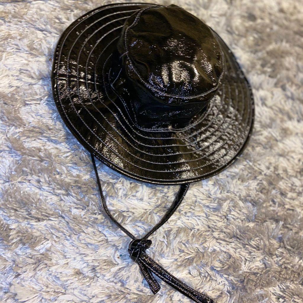 Faux Leather Bucket Hat In 2021