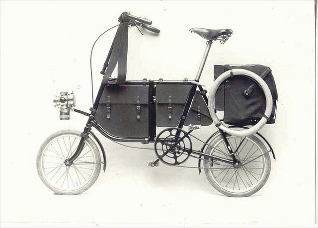 1898 Fongers militairy bicycle