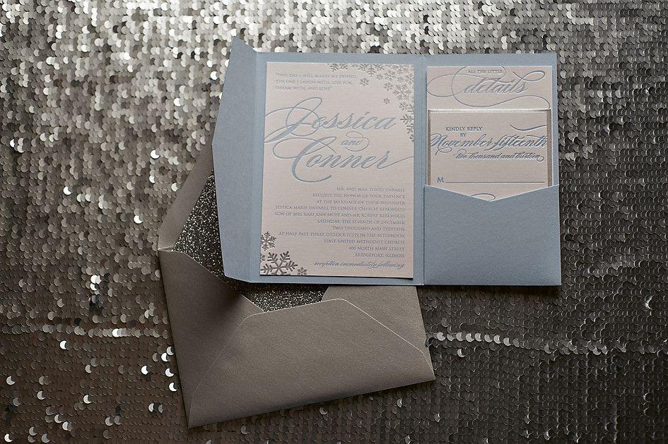LAUREN Suite // STYLED // Glitter Pocket Folder Package