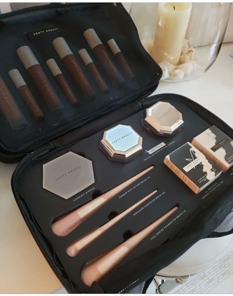 Fenty Beauty | Luxury makeup, Makeup storage bag ...