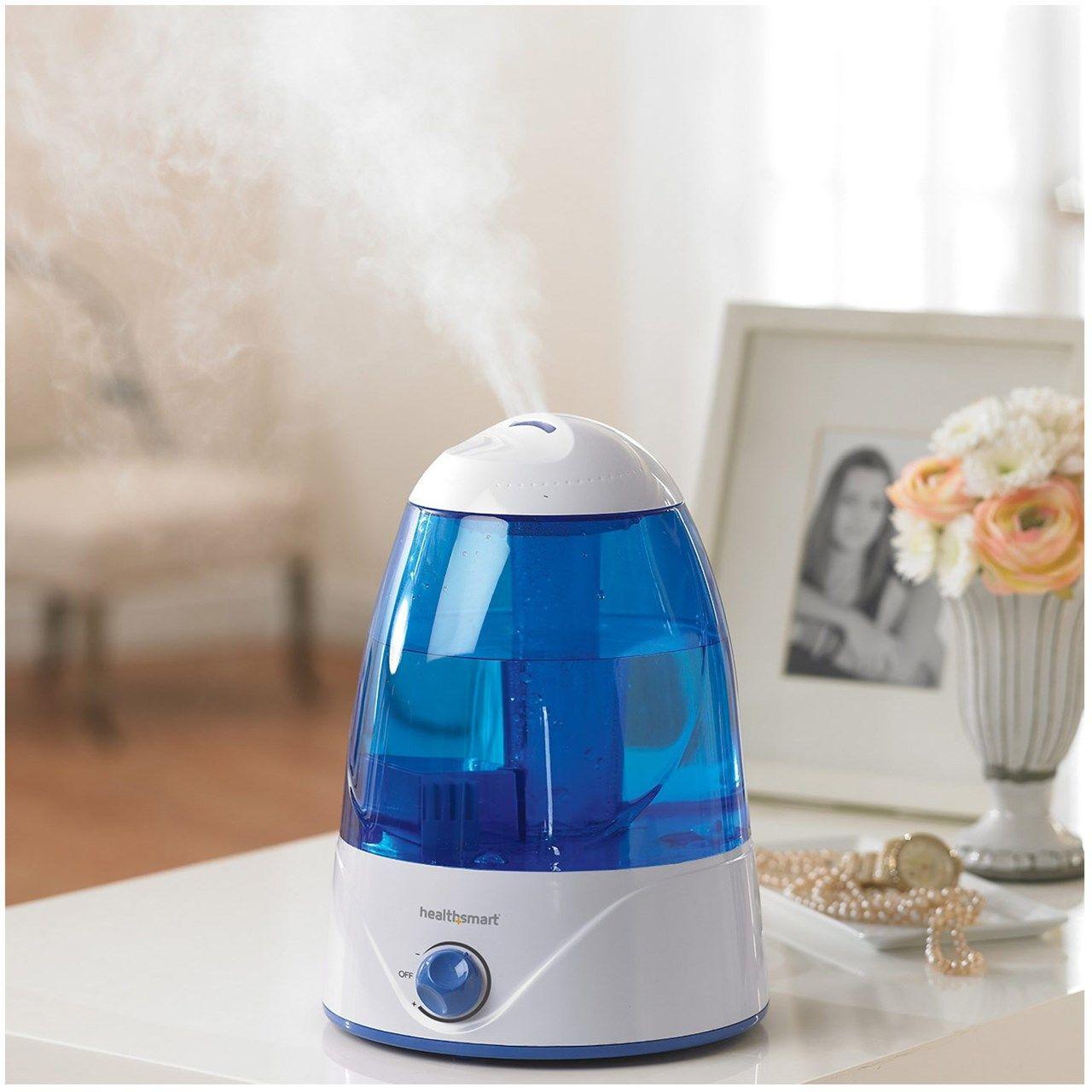 HealthSmart Cosmo Mist Ultrasonic Cool Mist Humidifier