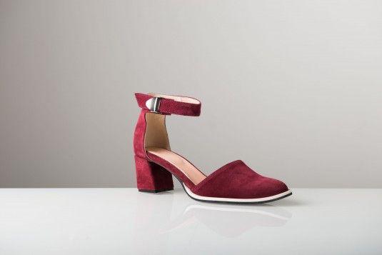 Bordeaux Suede Edie shoe