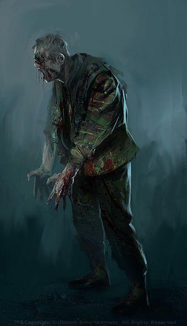 Morgan Yon Concept Art Visual Development Zombie Art Zombie Life Apocalypse Art