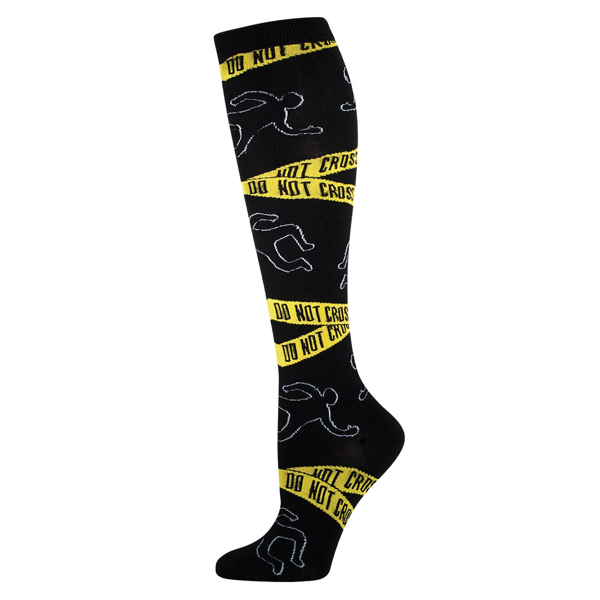 Crime Scene Knee Highs