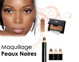 Maquillage peau noire Frédéric M