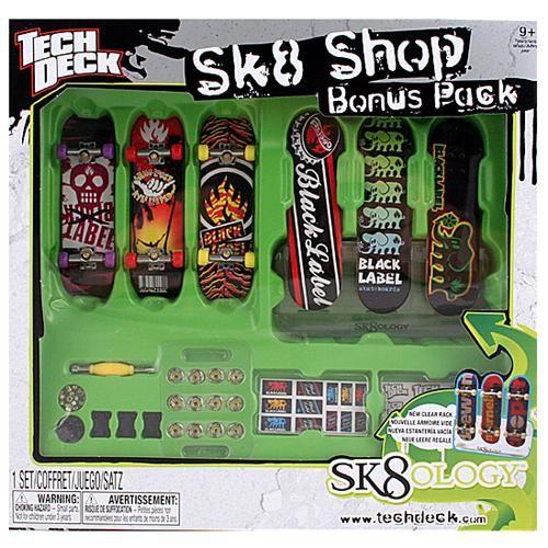 Tech Deck Sk8 Shop Black Label Tech Deck