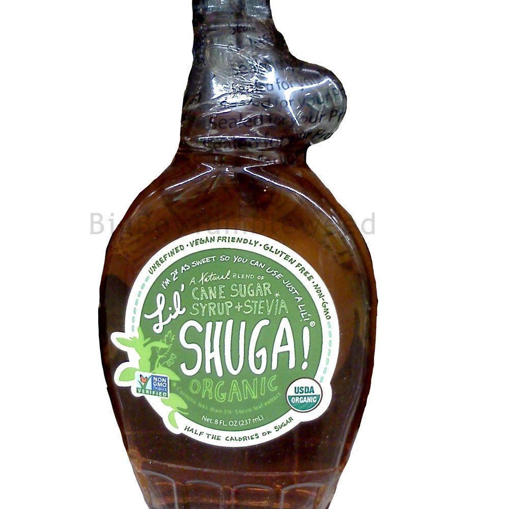 Lil sugar organic cane sugar stevia syrup sweetener 8
