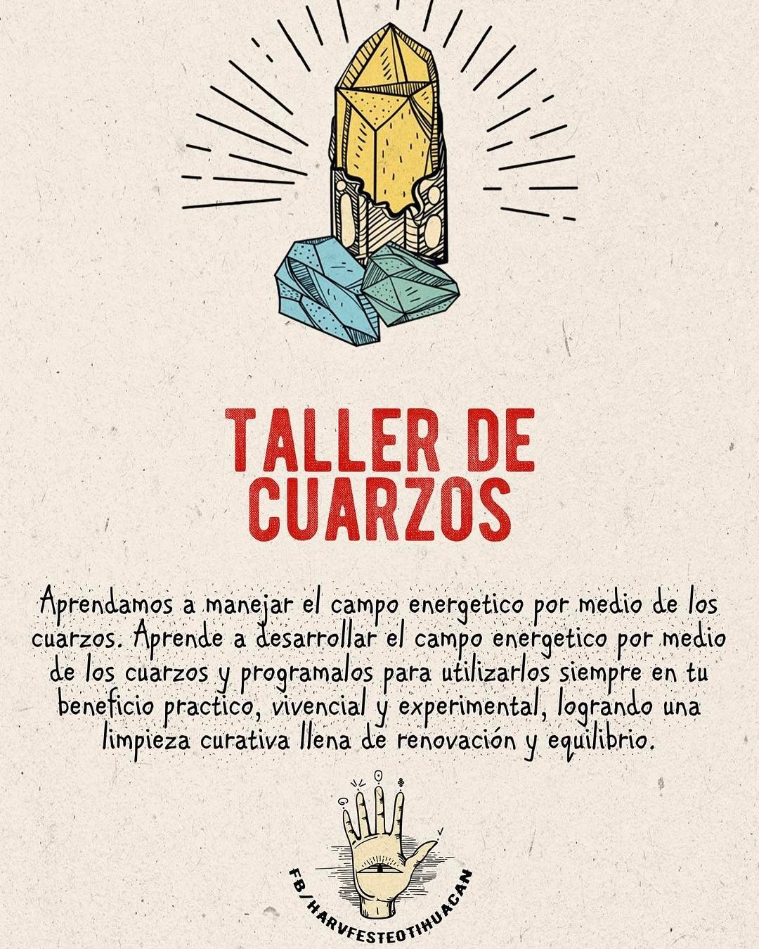 También habrá taller de cuarzos en Harvfest  Consigue tus boletos en Disenia.mx  @harvfestmx #tallerdecuarzos #teotihuacan #sanmartindelaspiramides #teotihuacan
