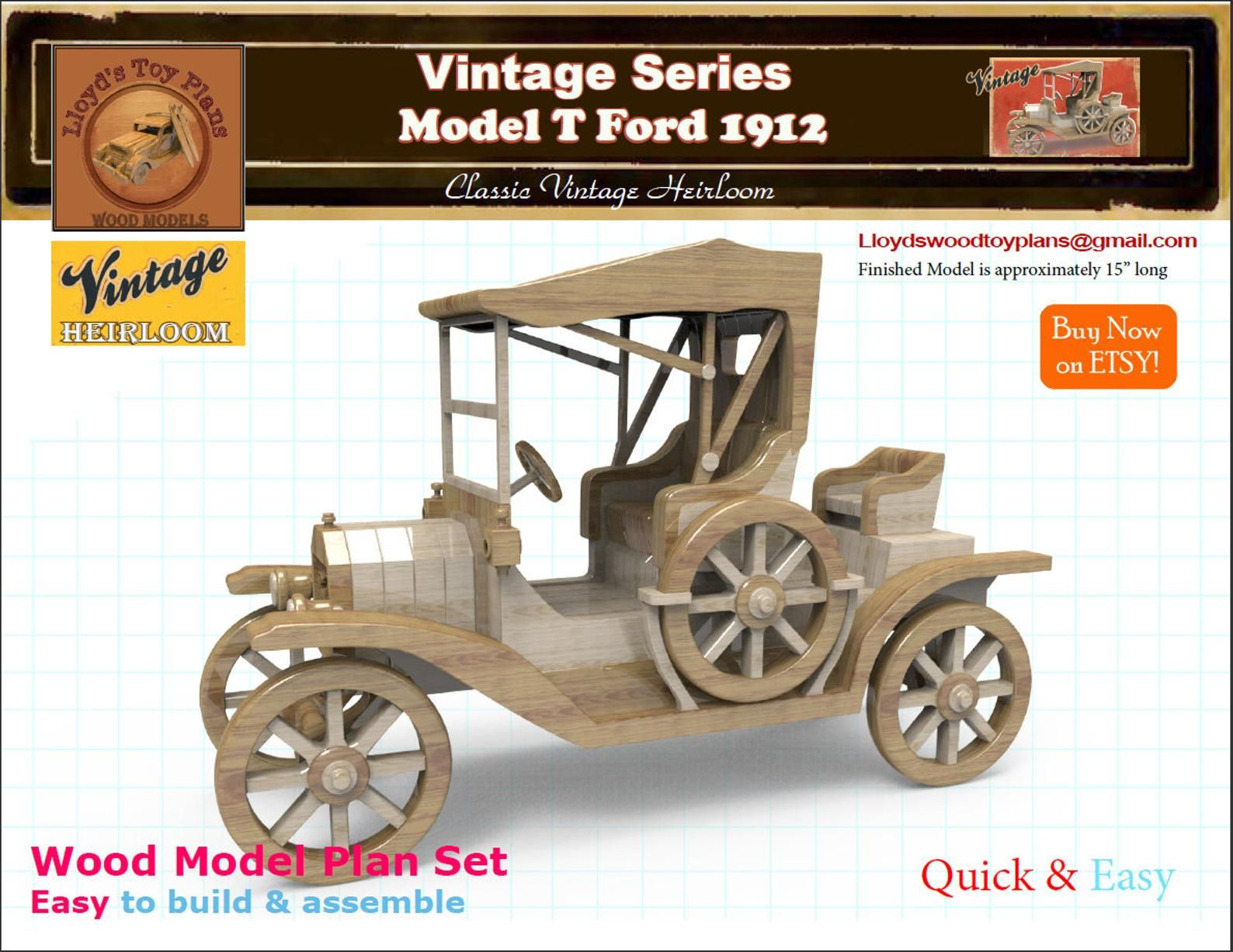 model t ford | scroll saw | wooden model kits, wood toys