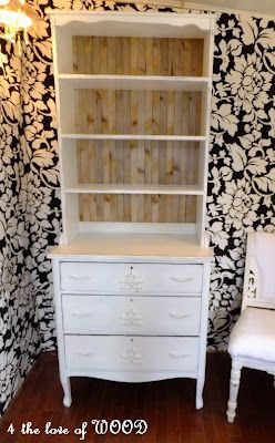 Another Dresser And Bookshelf Combo