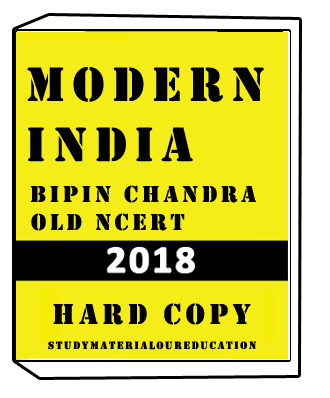 Modern India Old Ncert Book