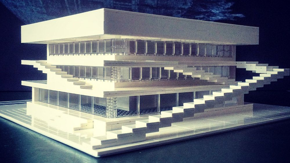 Berliner Arndt Schlaudraff creates intricate Lego models of Brutalist and Modernist buildings,and photographs the resultsforhis Instagram.