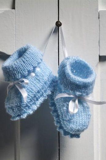 Photo of Babyschuhe stricken