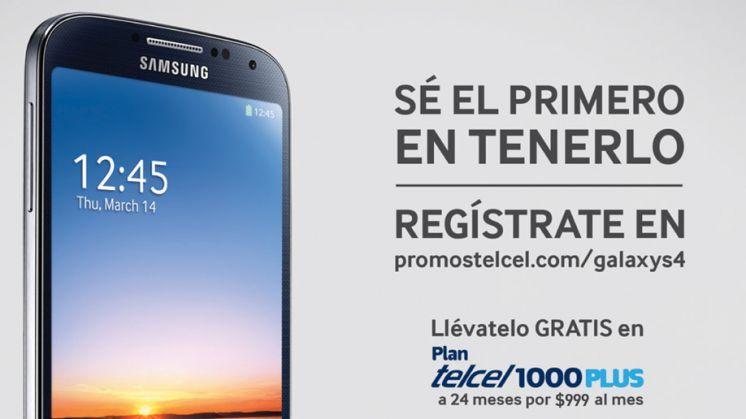 NUEVO Samsung Galaxy S4: Sé el primero en tenerlo.