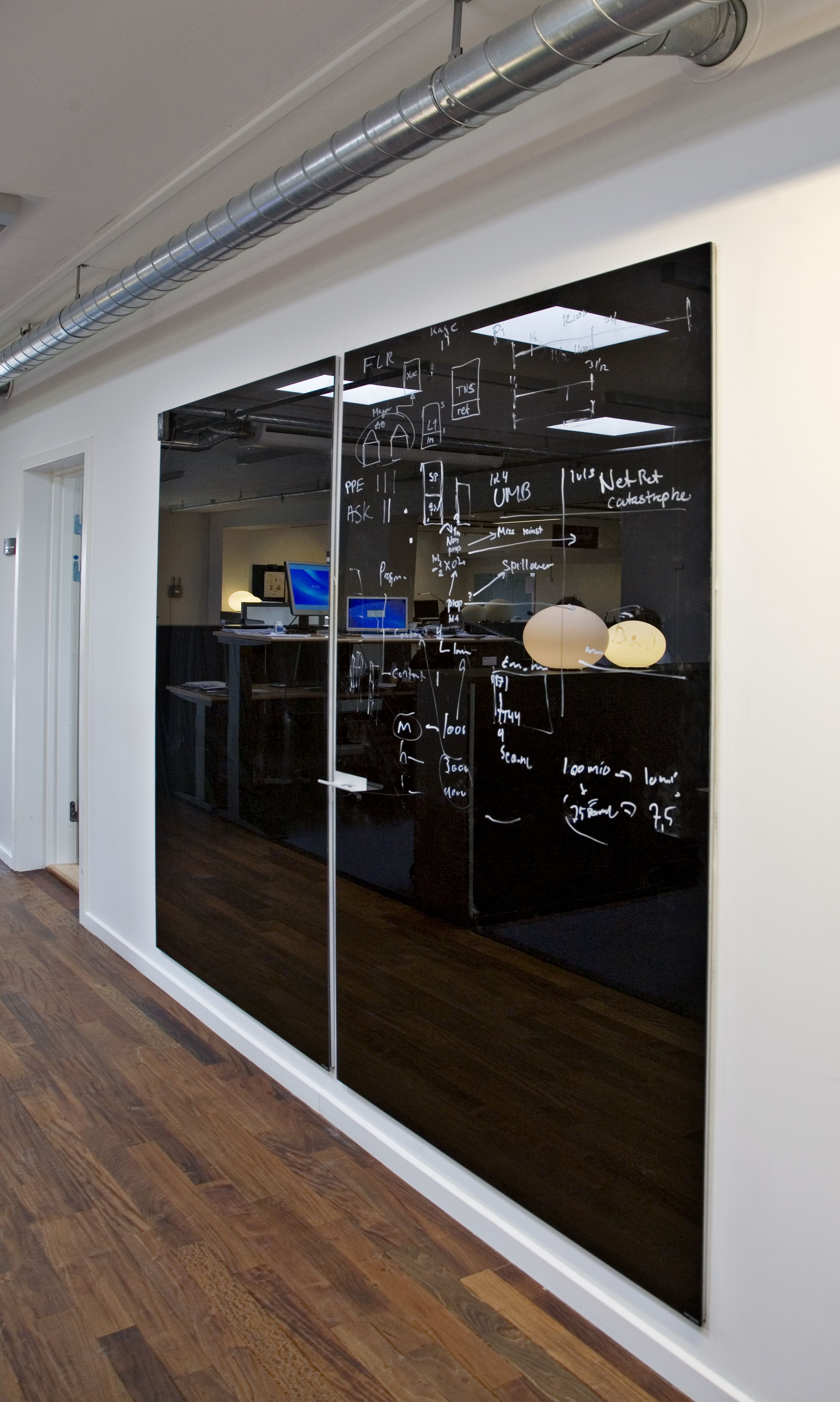Chat Boards By Focus Office Feature Wall Wall Writing Glass White Board