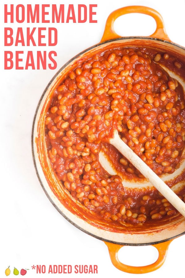 Homemade Baked Beans Healthy Little Foodies Recipe Homemade Baked Beans Healthy Baked Beans Homemade Baked Beans Recipe