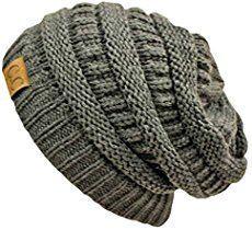 Kostenlose Anleitung: Stripey Knit Slouchy Mützen #bonnets