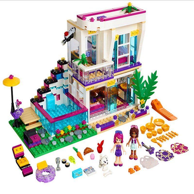 Friends Livi S Pop Star House 41135 Lego Girls Lego Friends Sets Lego Friends