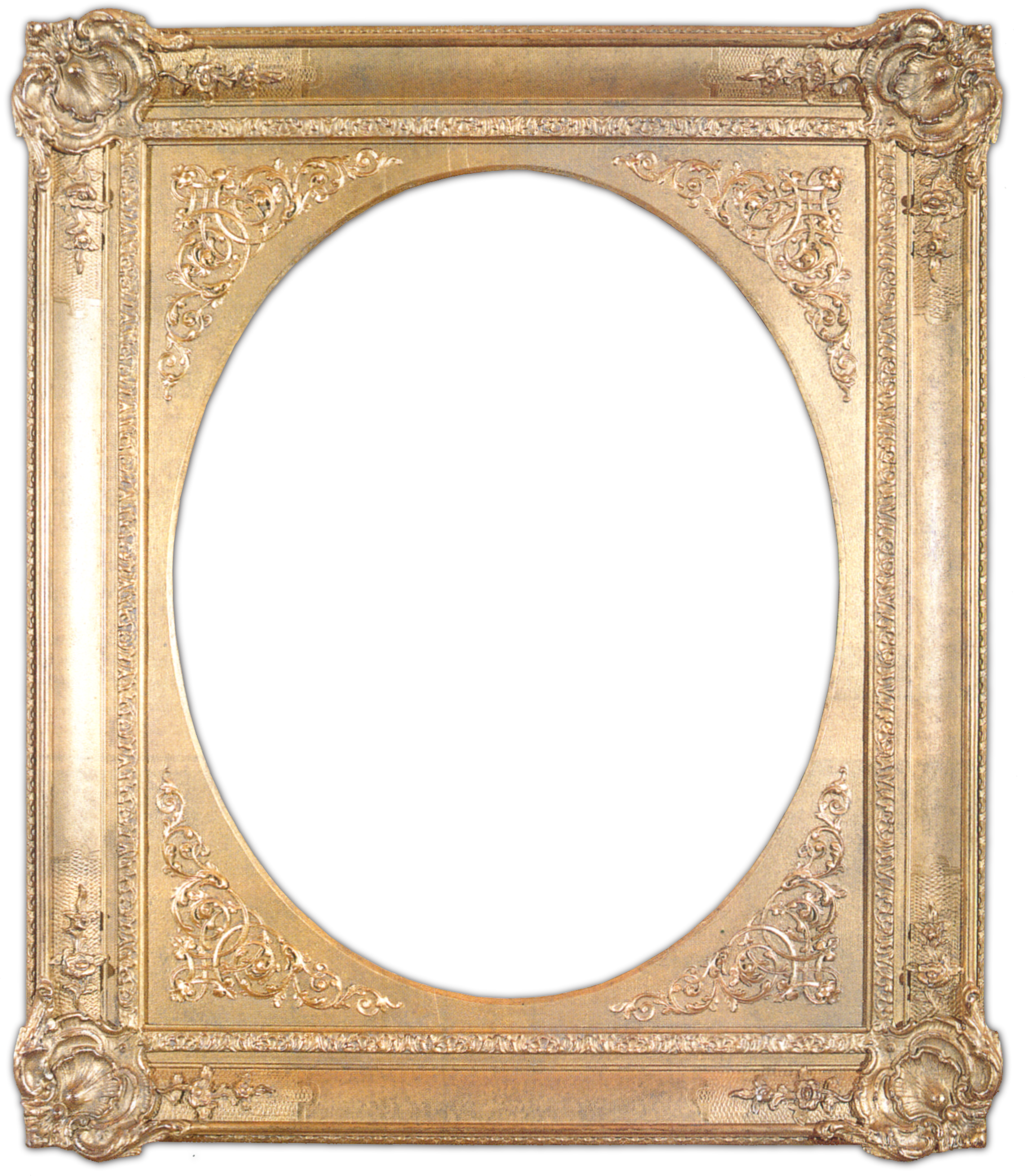 Free Printable Picture Frames | all gold frames all silver frames ...