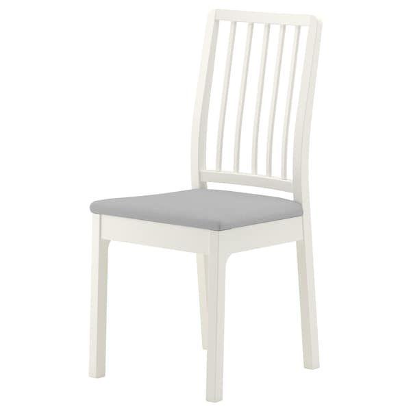 ekedalen ikea silla blanco