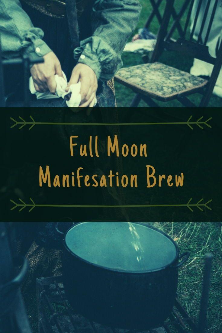 Full Moon Manifestation Brew | Solstice Sisters