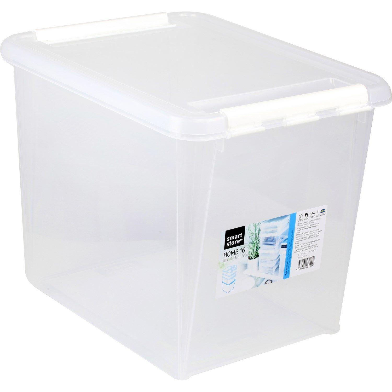 Boite Avec Couvercle 40x30x32 Cm Smart Store La Boite A Prix Couvercle Boite Et Stores