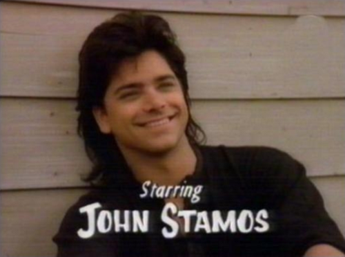 Crush On John Stamos Nice Mullet
