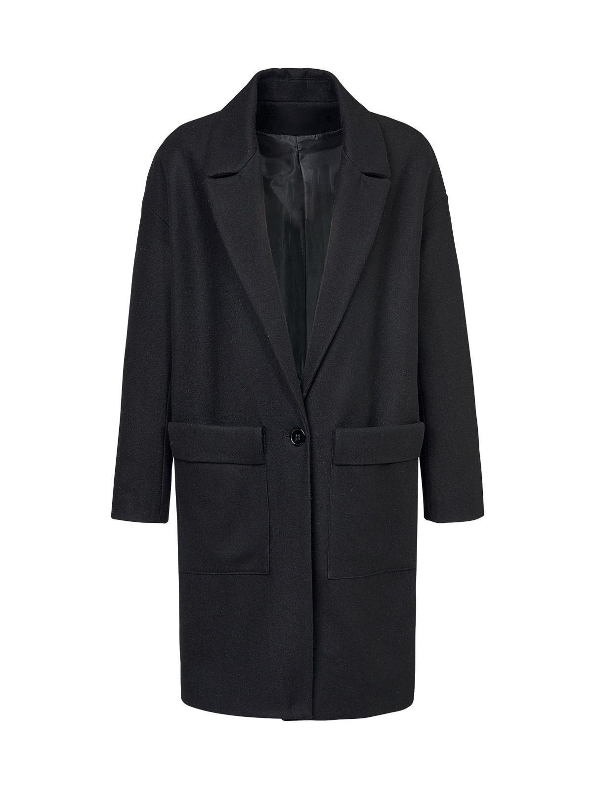 Blazerstil Reken gt; Maar Super Im Wolle Mantel Elegant Xgpdxq