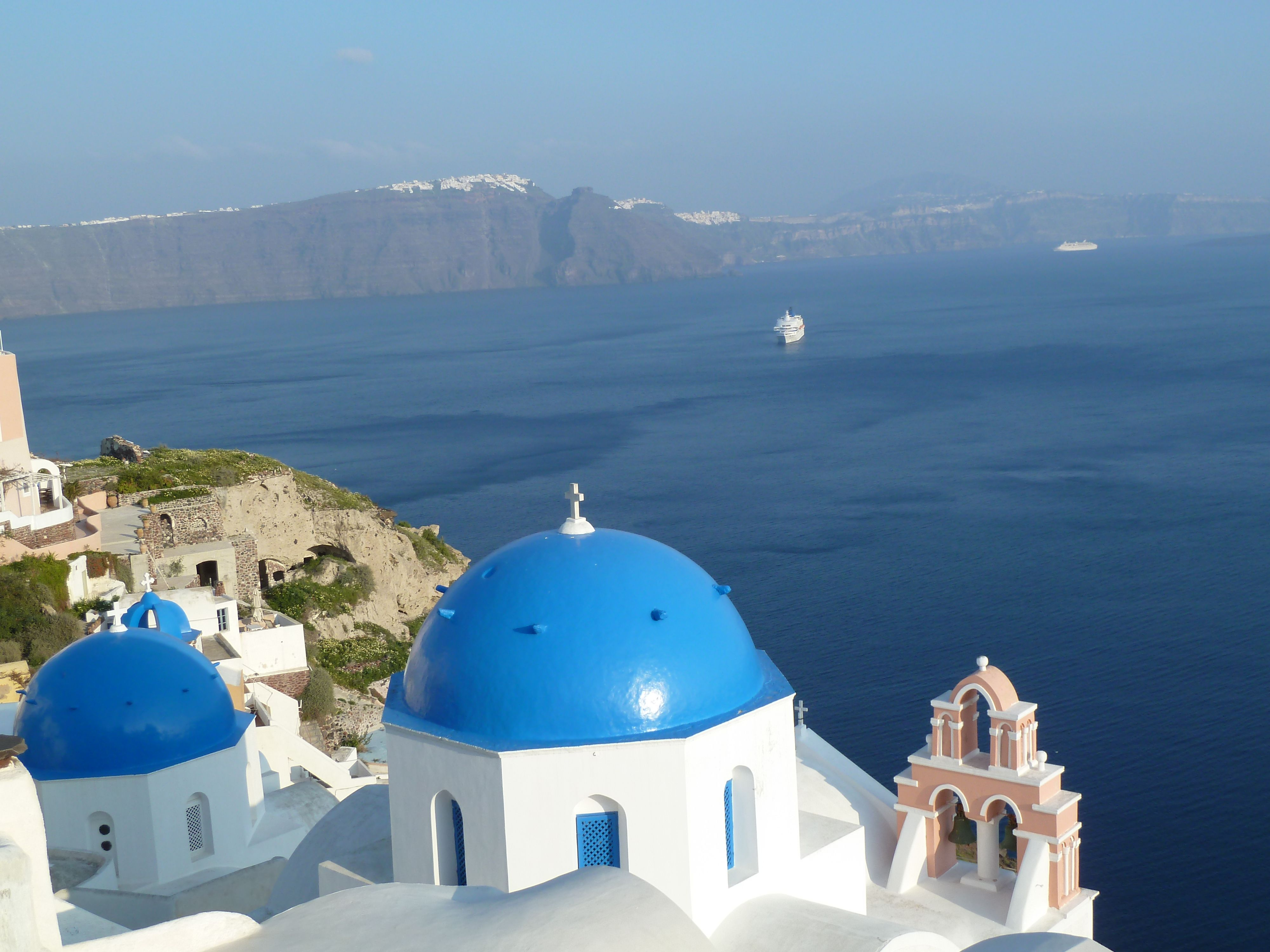 Travelers on our tour of Greece will enjoy an unforgettable walk on the island of Santorini.   This walk is included in the Greece-Mediterranean Antiquities 2018 tour. To find out more, check out our website at: www.walkingadventures.com.  #culture #travel #Tour #tourism #vacation #trip #destination #bucketlist #beforeIdie #wanderlust #WalkingAdventures #WalkingAdventuresInternational #Greece #Santorini #Mediterranean #Walkingtour #Adventuretravel