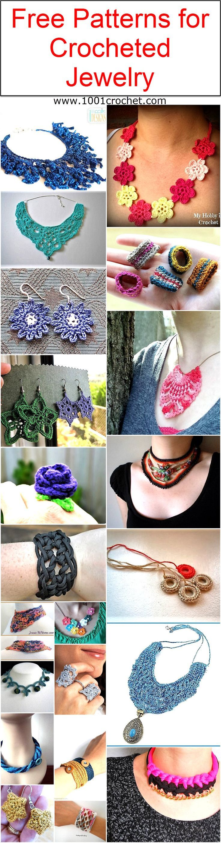 Free patterns for crocheted jewelry free pattern free bankloansurffo Images